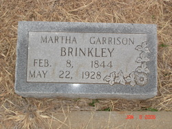 Martha <I>Garrison</I> Brinkley