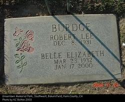 Belle Elizabeth <I>Brooks</I> Burdge