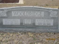 Maymee Ruth <I>Fisher</I> Wooldridge