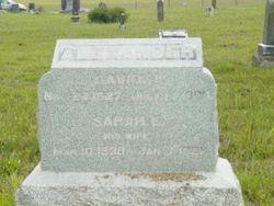 Sarah E. <I>McDaniel</I> Alexander
