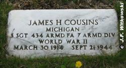 Sgt James H. Cousins