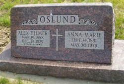 Anna Marie <I>Anderson</I> Oslund