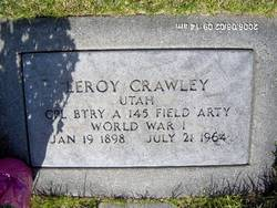 Leroy Crawley