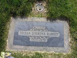 Eolean <I>Simmons</I> Ramsey
