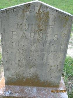 "Mary Jane ""Mollie"" <I>Clem</I> Barnes"