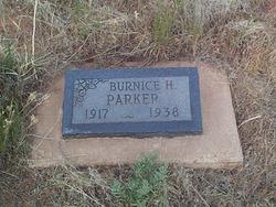 Burnice H. <I>Hayhurst</I> Parker