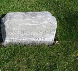 Martha <I>Horn</I> Baker