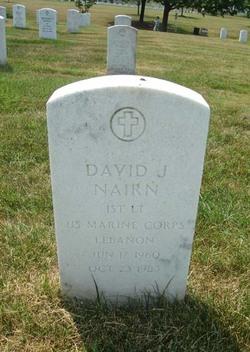 1LT David Johns Nairn