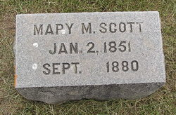 Mary Margaret <I>Gerking</I> Scott