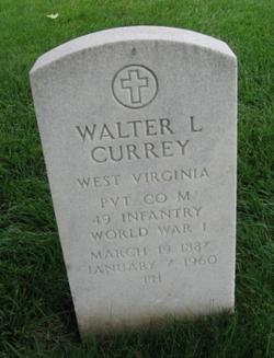 Walter L Currey