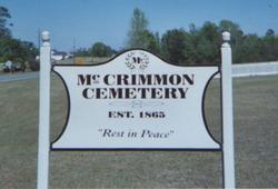 McCrimmon Cemetery