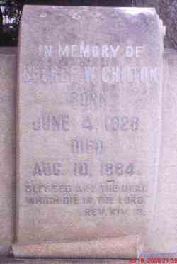 Maj George Washington Chilton