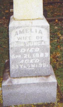 Amelia <I>Onyett</I> Duncan