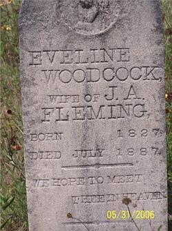 Eveline <I>Woodcock</I> Fleming