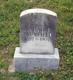 Sarah Ruhamey <I>Null</I> Brumfield