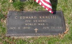 PFC C Edward Krausse