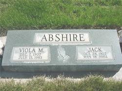 Viola M. <I>Bittner</I> Abshire