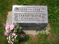 Sarah Marie <I>Wion</I> Chambers