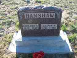 Alma F Hanshaw