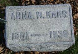 Anna W Karr
