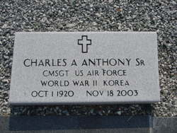 Sgt Charles A Anthony, Sr