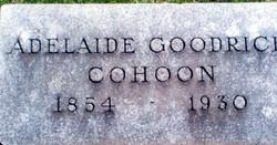 Adelaide <I>Goodrich</I> Cohoon