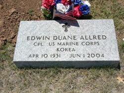 """Edwin Duane """"Buck"""" Allred"""