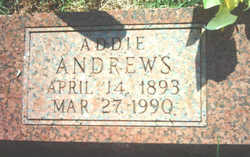Addie E. Andrews