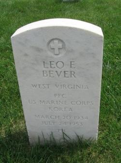 "PFC Leo Edward ""Pete"" Bever"
