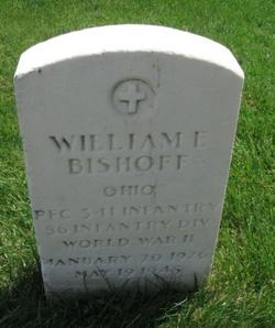 PFC William Edward Bishoff