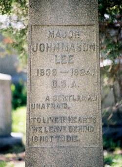 Maj John Mason Lee
