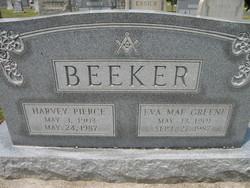 Eva Mae <I>Greene</I> Beeker