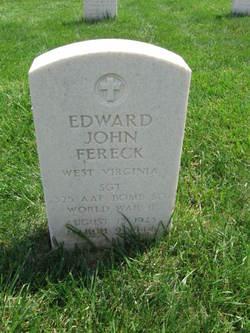 Sgt Edward John Fereck