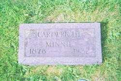 Minnie L <I>Sweetman</I> Cartwright