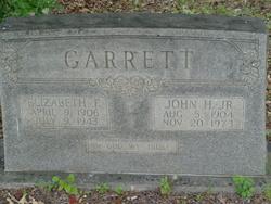 Elizabeth F Garrett