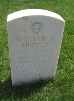 SSGT William D Findley