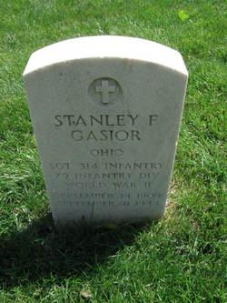 SGT Stanley F Gasior