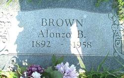 Alonzo B. Brown
