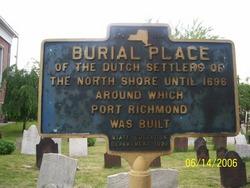 Reformed Church on Staten Island Cemetery in Port Richmond, New ...