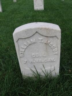 William T McCoy