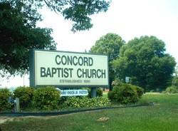 Concord United Baptist Church Cemetery