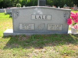 Clara Drucilla <I>Lee</I> Lale