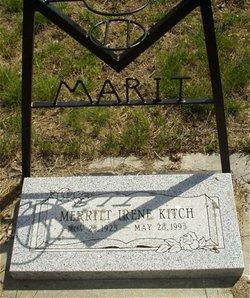 Merritt Irene <I>Pearson</I> Kitch