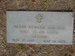 Sgt Henry Edward Adkison
