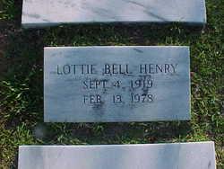 Lottie Bell Henry