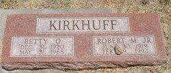 Betty Oneida <I>Schultz</I> Kirkhuff