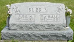 May <I>Harrel</I> Burris