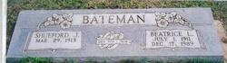 Beatrice L <I>Robinson</I> Bateman