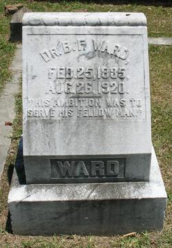Dr Benjamin Franklin Ward