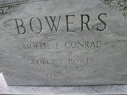 Mollie E. <I>Conrad</I> Bowers